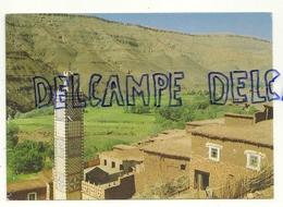 Village De La Vallée Du Draa. Route De Zagora. Le Maroc Infini. Createc Editions - Maroc