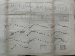 ANNALES DES PONTS Et CHAUSSEES (Hongrie) - Plan Du Régime De La Theiss Et De Szegedin - Graveur Macquet - 1915 (CLC72) - Nautical Charts