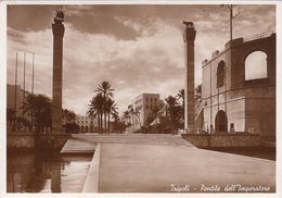 LIBYA - Tripoli 1939 - Pontile Dell'Imperatore - Libya