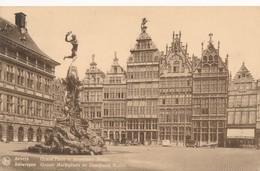 CPA - Belgique - Antwerpen - Anvers - Grand'Place Et Monument Brabo - Antwerpen