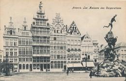 CPA - Belgique - Antwerpen - Anvers - La Maison Des Corporations - Antwerpen