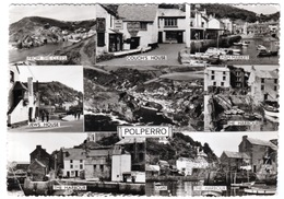 POLPERRO, CORNWALL MULTIVIEW. COUCH'S HOUSE, FISH MARKET - England