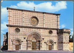 °°° Cartolina N. 711 L'aquila Basilica Di S. Maria Collemaggio Viaggiata °°° - L'Aquila