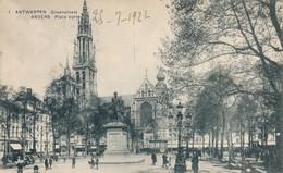 CPA - Belgique - Antwerpen - Anvers - Place Verte - Antwerpen