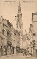 CPA - Belgique - Antwerpen - Anvers - Marché Au Blé Et Cathédrale - Antwerpen