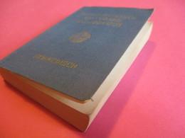 Petit Dictionnaire Schwedisch- Deutsch/Deutsch-Schwedish// LANGENSCHEIDTS/ Universal-Wörterbuch/Berlin/ 1953    DIC7 - Books, Magazines, Comics
