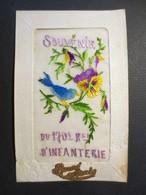Carte Postale Ancienne  Brodée - Souvenir Du 170 E D'Infanterie   - 1929 - - Embroidered
