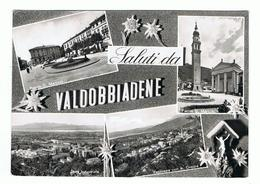 VALDOBBIADENE:  SALUTI  DA .... -  VISIONI  -  FOTO  MAFFEI  -  PER  LA  SVIZZERA  -  F.LLO  TOLTO  -  FG - Treviso