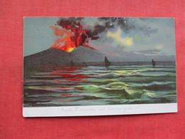 Vesuvius In Eruption       Italy > Campania > Napoli (Naples)> .ref 3283 - Napoli (Naples)