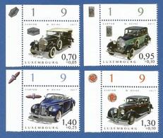 Luxembourg  2017 , Alte Autos / Oldtimer - Compl. Satz - Postfrisch / MNH / (**) - Luxemburg