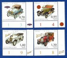 Luxembourg  2015 , Alte Autos / Oldtimer - Compl. Satz - Postfrisch / MNH / (**) - Luxemburg