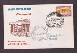 AIR FRANCE - 2 4 1970 FFC ATENE-BASILEA - Avions