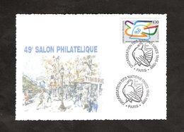 7 02873-49ème Salon Philatélique  16-19/11/1995 - ONU - Esposizioni Filateliche