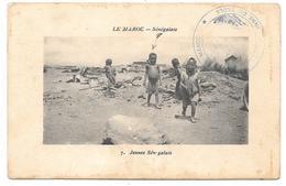 LE MAROC - Jeunes Sénégalais - Ed. Maillet N° 7 - 1914 - Tampon CAMPAGNE DU MAROC COLONNE DU TADLA - Unclassified