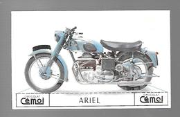 W982 - CARTON CHOCOLAT CEMOI - MOTO ARIEL - Motos