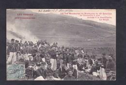 Vosges Manoeuvres De Montagnes Du 10è Bataillon De Chasseurs à Pied Arrivee à La Grand' Halte La Soupe - Unclassified
