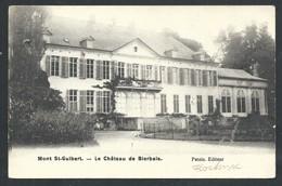 +++ CPA - MONT ST GUIBERT - Château De BIERBAIS    // - Mont-Saint-Guibert