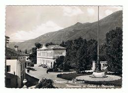 CRESPANO  DEL  GRAPPA:  MONUMENTO  AI  CADUTI  E  MUNICIPIO  -  FOTO  -  FG - Treviso