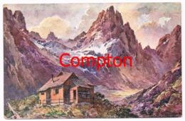 464 E.T.Compton Hanauer Hütte Künstlerkarte Rarität  !! - Non Classés