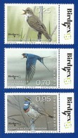 Luxembourg  2018  Mi.Nr. 2168 / 2170 , Seltene Vögel - Compl. Satz - Postfrisch / MNH / (**) - Luxemburg