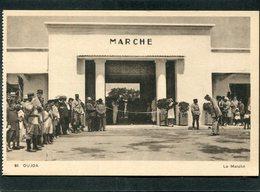 CPA - OUJDA - Le Marché, Très Animé - Maroc