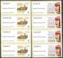 Espagne - 2019 - Vignettes ATM Madrid Chamartin - 4 Tarifs - 2011-... Ungebraucht