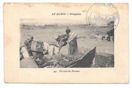 LE MAROC - Sénégalais - Un Coin Du Bivouac - Ed. Maillet N° 44 - 1914 - Tampon CAMPAGNE DU MAROC COLONNE DU TADLA - Unclassified