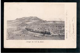 DJIBOUTI Rampe Du Col Du Harr 1912 OLD  POSTCARD - Gibuti