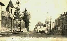 79....deux Sevres...mazieres En Gatine....place De L'église - Mazieres En Gatine