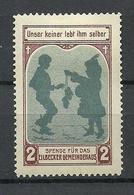 Germany Spende Für Eilbecker Gemeindehaus Wohlfahrt Unterstützungsmarke * - Vignetten (Erinnophilie)