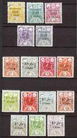 Iran Persia 1919, 1924, 1925 Provisories, MLH, CV 620 $ !!! - Iran