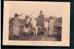 ETHIOPIE Chef En Voyage Ca 1905 OLD  POSTCARD - Ethiopië