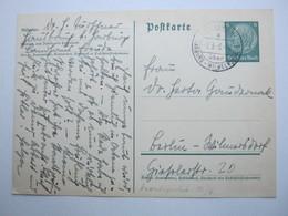 1938 , HAUSBRUCH über Hamburg-Wilhelmsburg , Klarer Landpoststempel Auf Karte - Briefe U. Dokumente