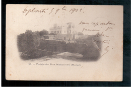 ETHIOPIE Palais Du Ras Makonnen (Harar)  1902 OLD  POSTCARD - Ethiopië