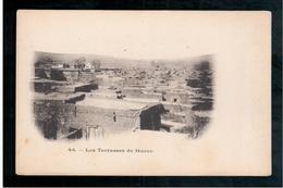 ETHIOPIE Les Terrasses De Harar Ca  1905 OLD  POSTCARD - Ethiopië
