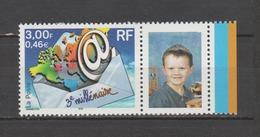 FRANCE / 2000-2001 / Y&T N° 3365Ab ** : 3ème Millénaire (vignette Photo) X 1 BdF D - Personalizzati