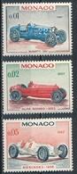 °°° MONACO - Y&T N°708/10 - 1967 MNH °°° - Monaco