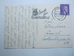 1942 , Kassel - Kartoffelkäfer , Klarer Stempel Auf Karte - Briefe U. Dokumente