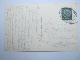 1941 , MÜNCHEN - VILLACH , Bahnpost , Klarer Stempel Auf Karte - Briefe U. Dokumente