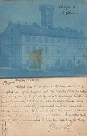 MASIO-ALESSANDRIA-COLLEGIO DI SAN PATRIZIO-CARTOLINA VIAGGIATA IL 9-9-1898 - Alessandria