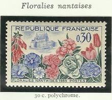 FRANCE - 1963 - FLORALIES NANTAISES - YT N° 1369 - TIMBRE NEUF** - Frankreich