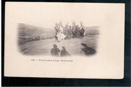 ETHIOPIE Porteuses D'eau Hararies Ca  1905 OLD  POSTCARD - Ethiopië