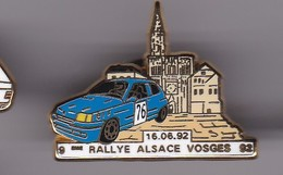 Pin's RALLYE ALSACE VOGES SIGNE ARTHUS BERTRAND - Other