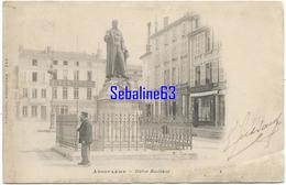 Angoulème - Statue Bouillaud - 1902 - Angouleme