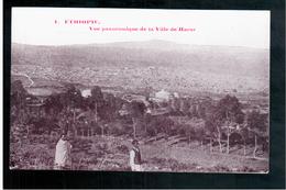 ETHIOPIE Vue Panoramique De La Ville De Harar Ca  1905 OLD  POSTCARD - Ethiopië