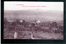 ETHIOPIE Vue Panoramique De La Ville De Harar (2)  Ca  1905 OLD  POSTCARD - Ethiopia