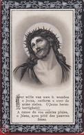 Leonardus Sleeckx Catharina Van Tulden Turnhout Kempen Merxem 1910 Ecce Homo Doodsprentje Bidprentje Image Mortuaire - Images Religieuses