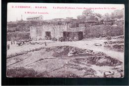 ETHIOPIE Harar - La Porte Fallana, L'une Des Cinq Portes De La Ville - L'hôpital Français  Ca  1905 OLD  POSTCARD - Ethiopië