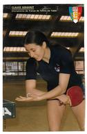BERGERET Claude - Table Tennis