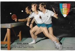 SECRETIN Jacques - Tennis De Table